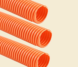 Car corrugated pipe