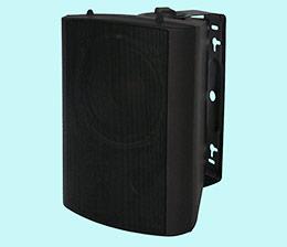 Outdoor wall-mounted speaker